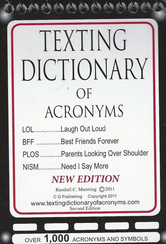 Texting Dictionary for Parents of Digital Kids