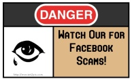 danger fB scams