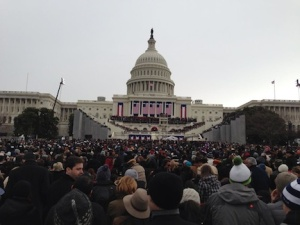 Maureen's inauguration pic