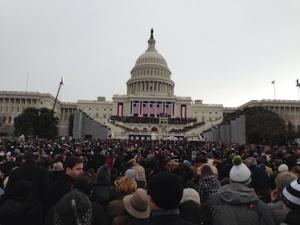 Maureen's inauguration pic