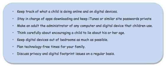 backtoschool cyber rules
