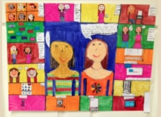 Digital Citizenship Posters Become a Hallway Exhibit