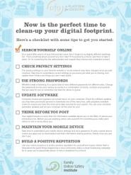 clean digital profile