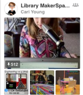 Pinterest Collection of Library Maker Centers