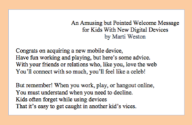Digital Citizenship Poem