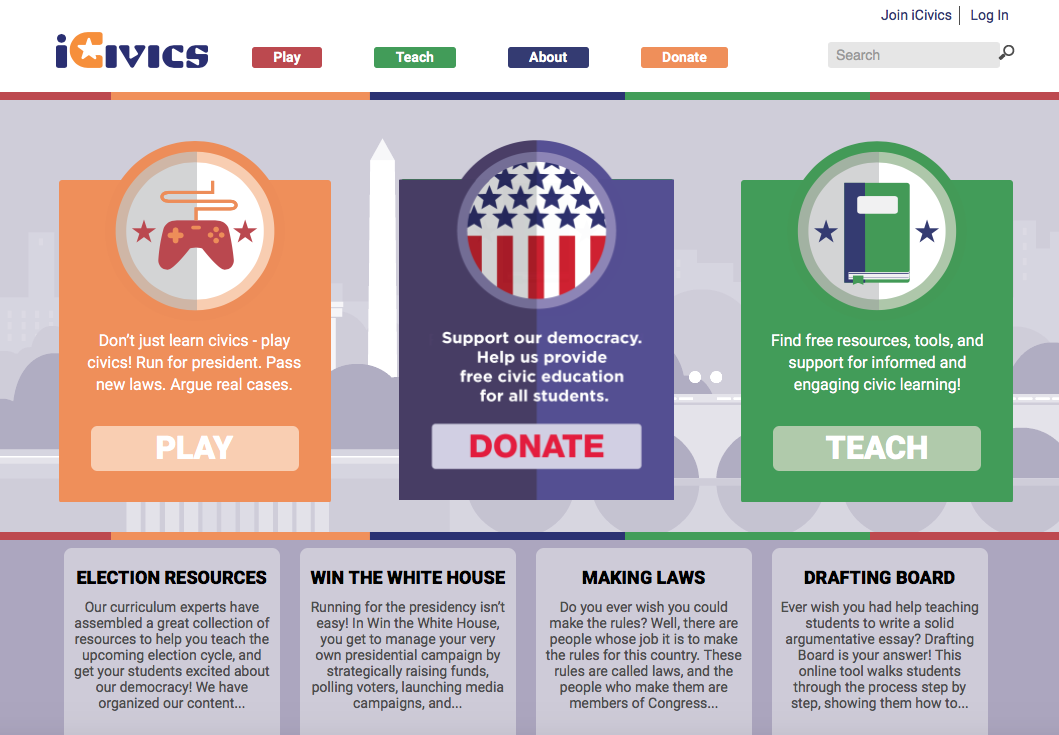 iCivics: Sandra Day O'Connor is a Video Game Entrepreneur – Media