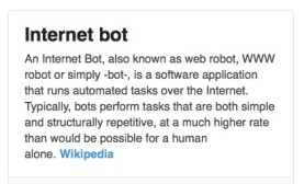 what is a bot?